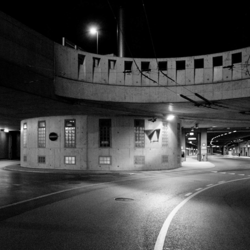 ARCHITECTURE - Gare Routière Fribourg - 2004 Olivier Savoy